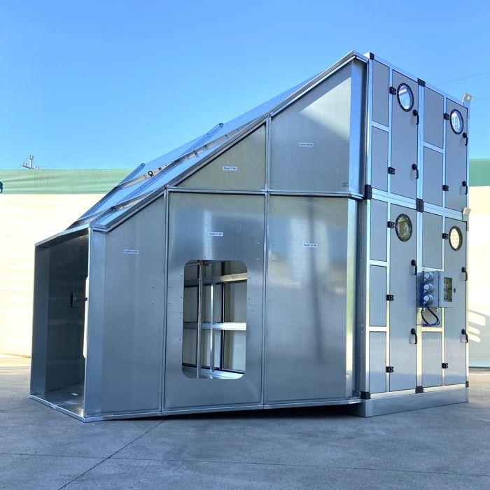 Módulo para la filtración primaria del aire en el túnel | América del Sur