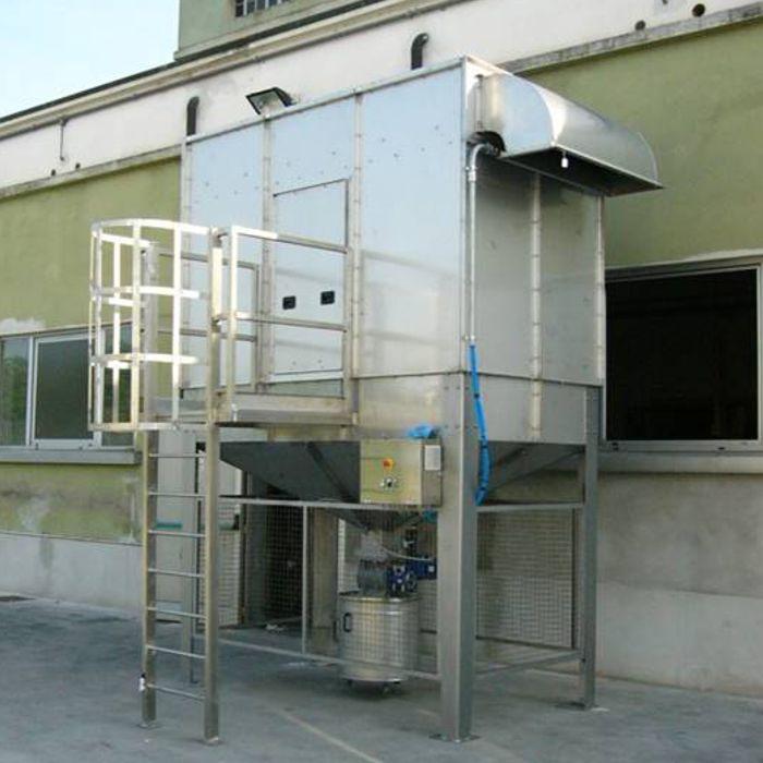 Filtro a cartucce autopulente FCA | Impianto pulizia vagoni ferroviari | Arabia Saudita