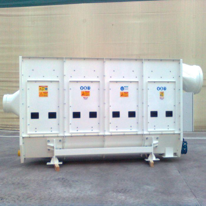 Depolveratore TMU | Scavo tunnel con TBM | Italia