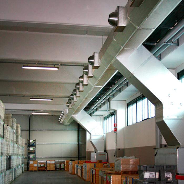 Impianto di climatizzazione | Produzione pompe | Italia