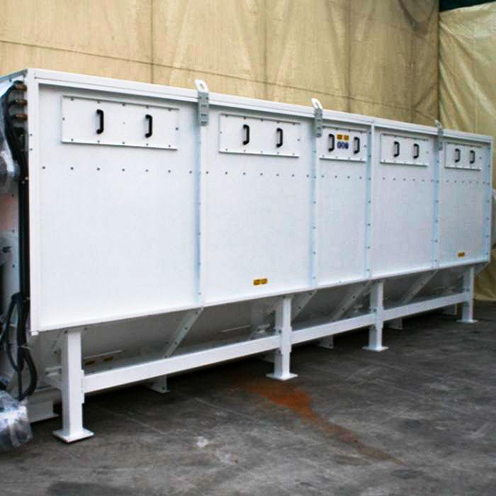 Colector de polvo TMU | Excavación de túnel con TBM | Hong Kong