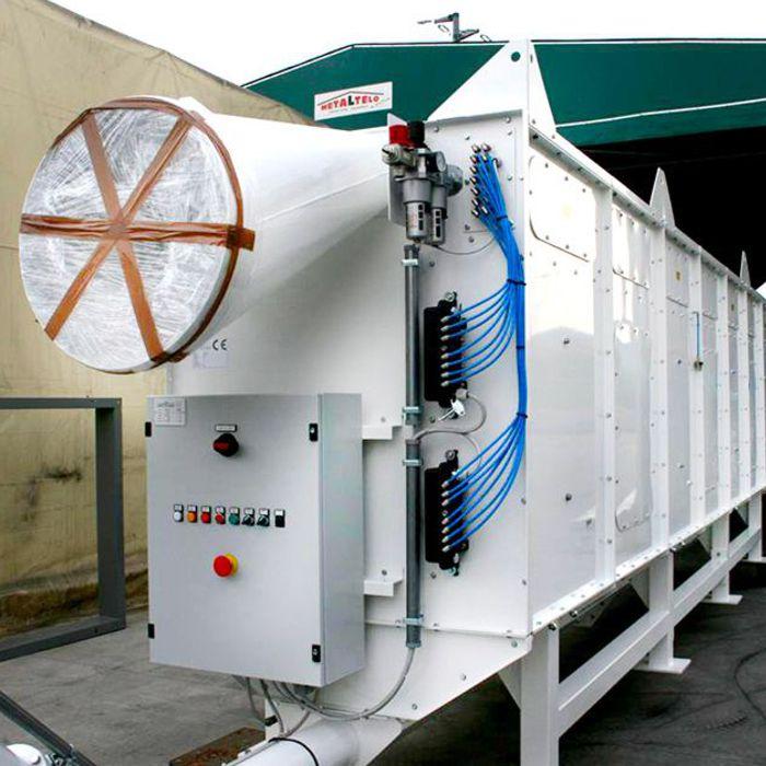 Colector de polvo TMU | Excavación de túnel con TBM | Turquía