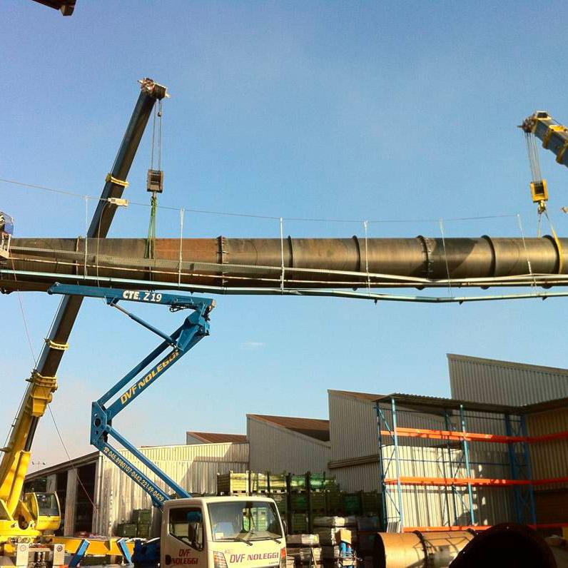 Tubazione impianto aspirazione fumi | Fonderia | Italia