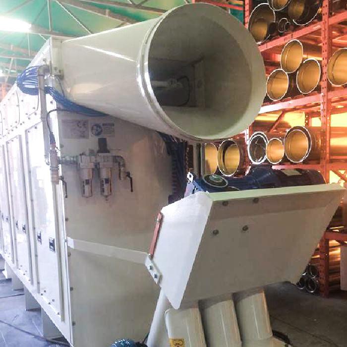 Colector de polvo TMU | Excavación de túnel con TBM | Filipina
