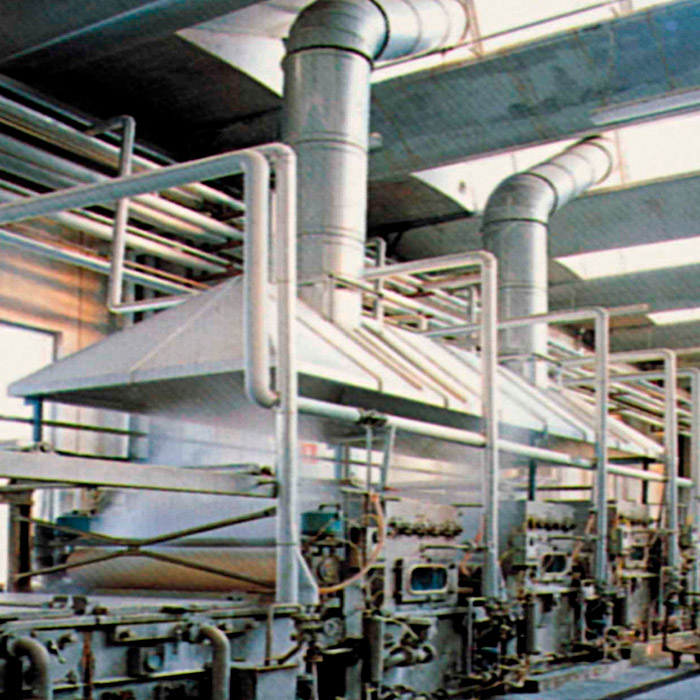 Suction system for fumes and steam | Dyeing lines | Italy