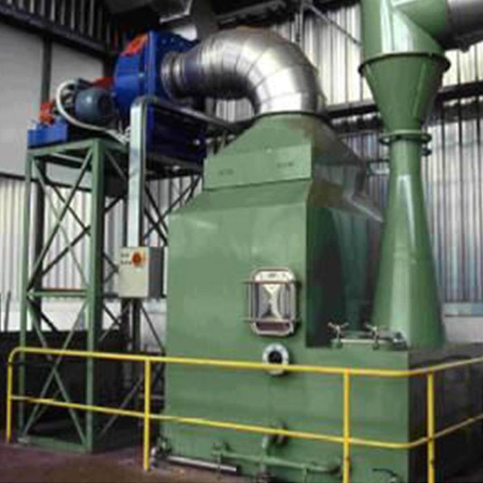 Depurador vertical SCRV con tubo Venturi | Línea a bocajarro | Italia