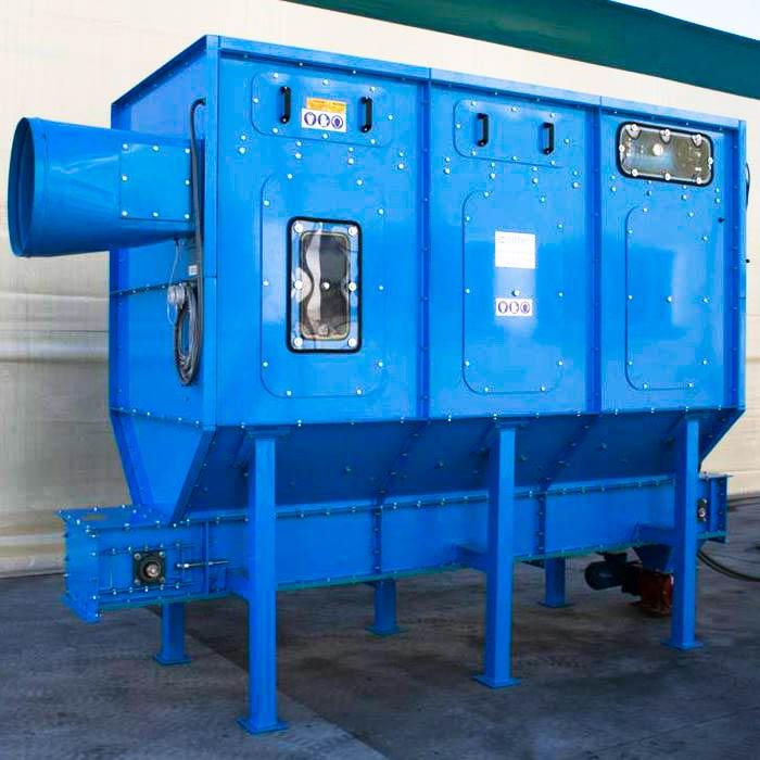 Depolveratore TMU | Miniera di gesso | Italia