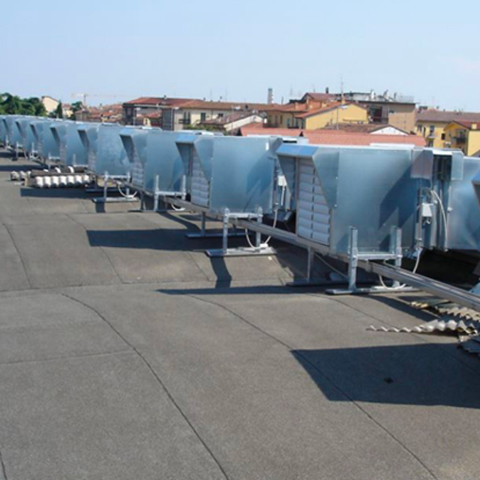 Forced ventilation system | Paper production | Italy