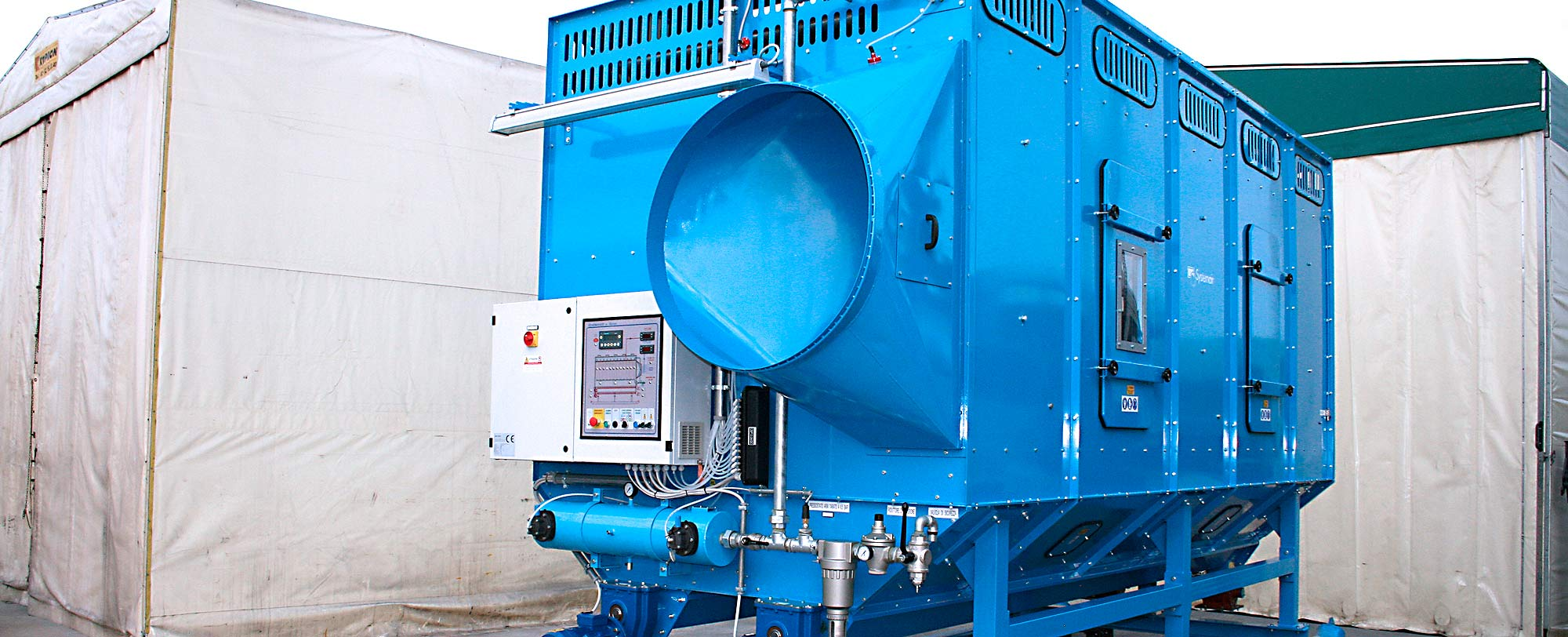 TMU dust collector for tunnel