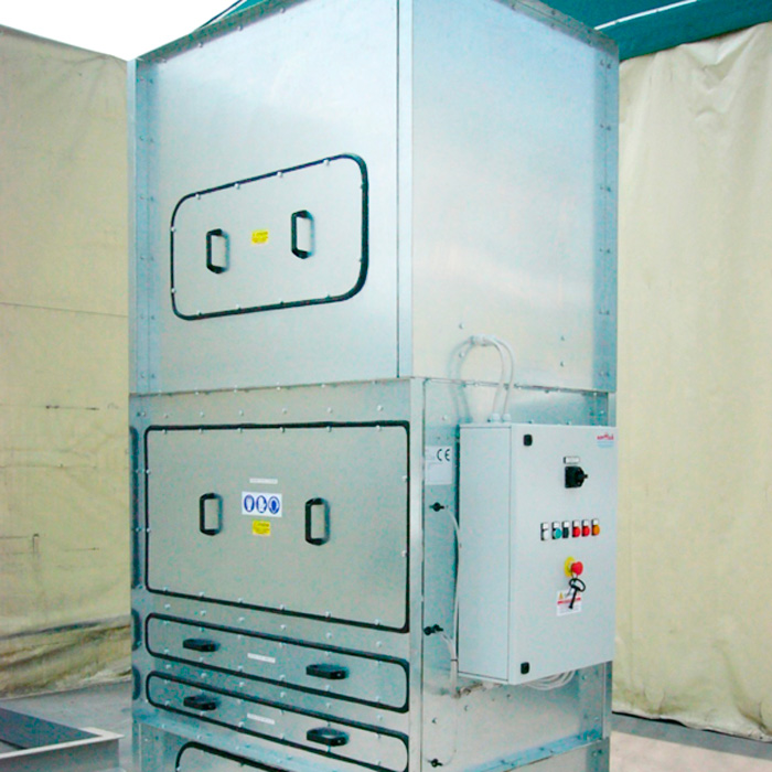 Suction and filtering unit | Welding fumes | Italy