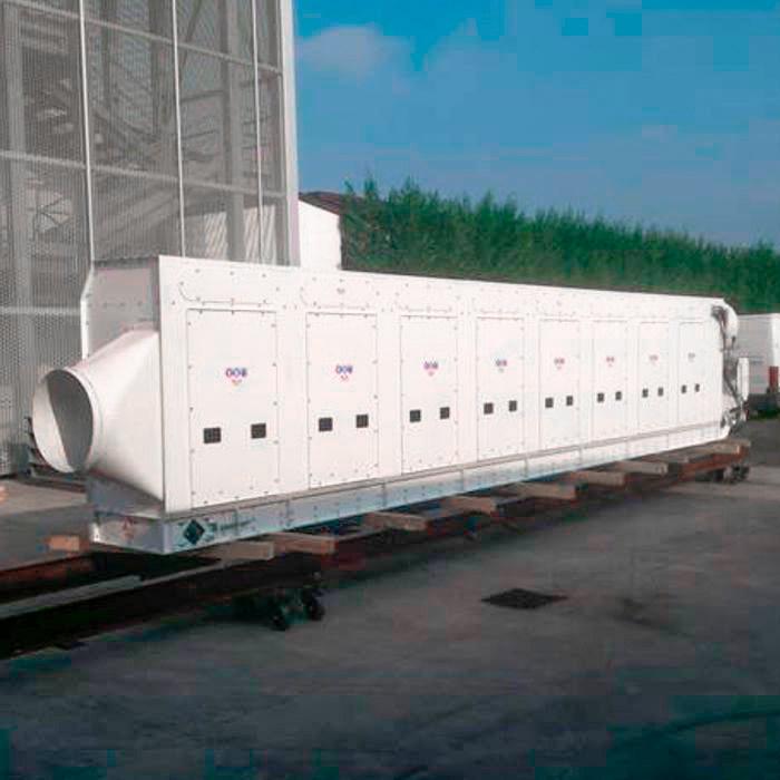 Colector de polvo TMU | Excavación de túnel con TBM | Italia