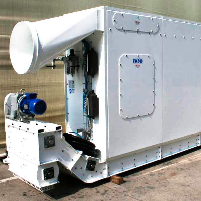 Depolveratore TMU | Scavo tunnel con TBM | China