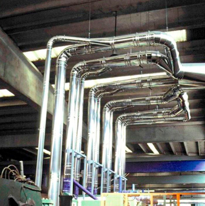 Impianto di aspirazione polveri | Satinatura coils | Italia
