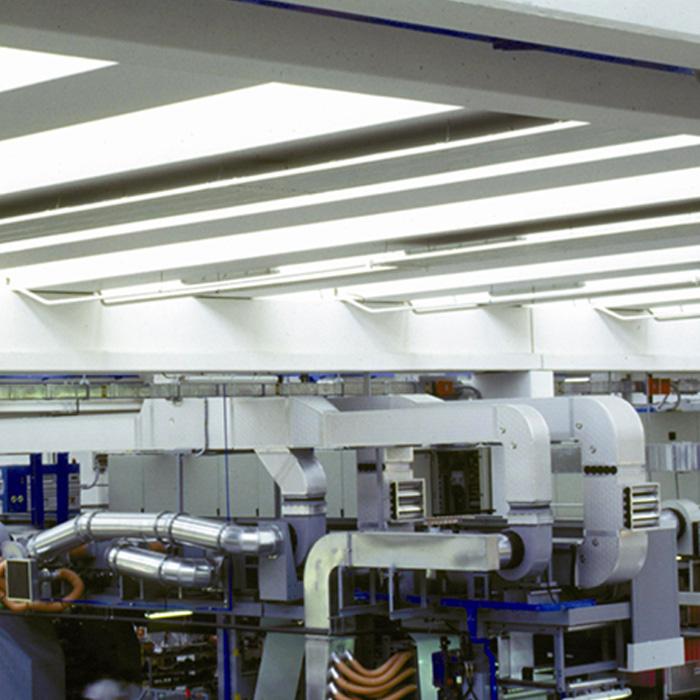 Impianto di recupero calore | Stampa flessografica | Italia