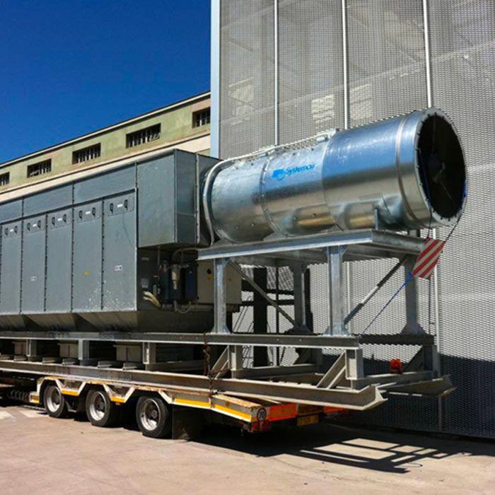 Depolveratore TMU | Scavotunnel con fresa puntuale | Italia