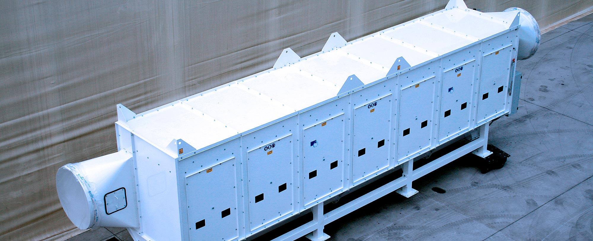 Colector de polvo TMU  para excavación de túnel